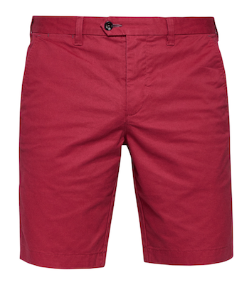 Get The Look Menswear Wild Wild Country Ted Baker red shorts'