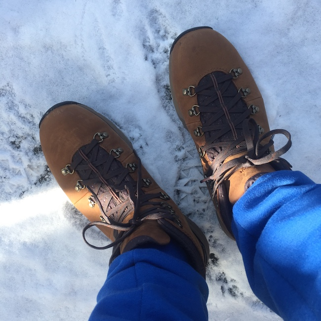 OOTD menswear parka Danner hiking boots