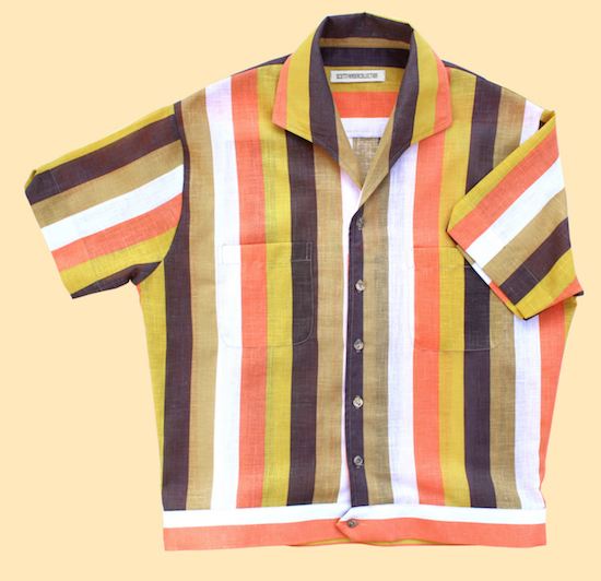 striped summer shirt Scott Fraser Collection menswear products