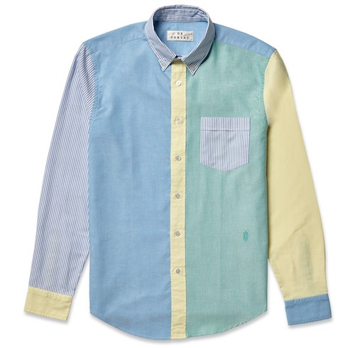 Fun shirt preppy coloured shirt Drakes De Fursac Rowing Blazers