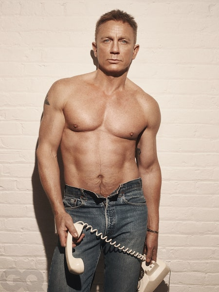 daniel craig james bond male body hair