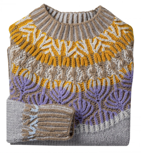Label to know menswear eribé rosemary made in scotland knitwear fair isle