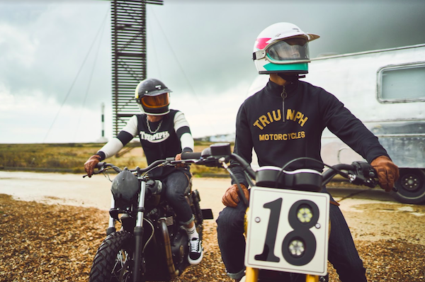 triumph motorcycles lifestyle menswear ss21 collection