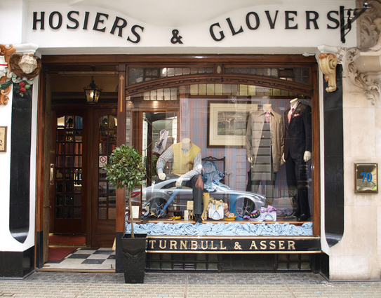 where to go shopping in london guide turnbull & asser